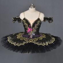 De alta calidad& agradable diseño maravilloso etapa de ballet de vestuario, clásica de la competencia profesional tutú de ballet