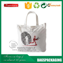 factory supplier organic cotton tote bags for shopping