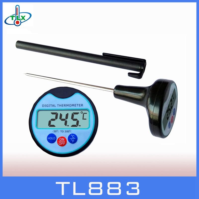 Digital Food Thermometer Temperature Probe Meat Steak Beef Cook BBQ Water Sensor