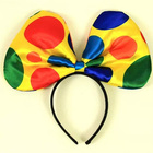 moda borboleta colorida grande festa de carnaval headband headband