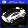 Fashion Race Car shaped Wireless mouse optical 1600DPI 2.4Ghz computer mouse