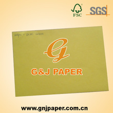 225gsm DC201 Lemon A4 Color Card Paper