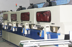 4-color Automatic UV ink screen printing machine with UV Dryer System LC-120AL-4