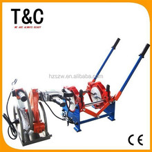 manual cheap from 63mm to 160mm hand push butt fusion two rings machine for welding
