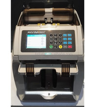 2015 new high quality two pockets money sorter counter detector top factory