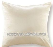Decorative Pillow Pure Color Silk Cotton Pillows Soft Silk Throw Pillow