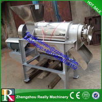 pineapple juice making machine/carrot juice extracting machine/Spiral Fruit Juice Crusher and Extractor