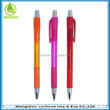 Cheap plastic pvc handle ball pen wholesale on Alibaba
