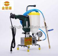 Single High-pressue PU /epoxy resin Injection machine/Polyurethane Grouting pump JBY800