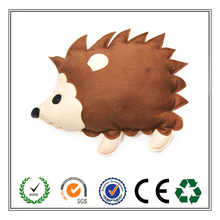 Custom High Quality Stuffed Lovely Hedgehog Felt Cushion