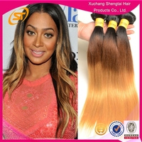 6A Grade Top Quality Cheap Peruvian Hair Ombre Colored Hair Weaves