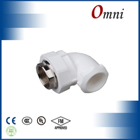 stainless steel malleable iron PVC water supply Pipe Fittings Female Elbow Reducing Elbow