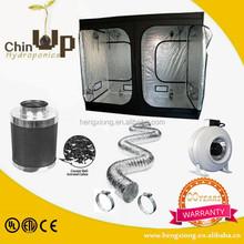 Hydroponics greenhouse ventilation grow tent system inline fan/garden active carbon filter lnline duct fan grow box kit