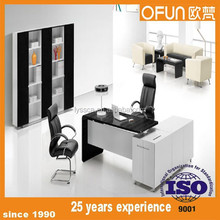 Melamine Executive L Shape office Desk design