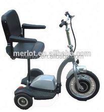 New design three wheeler standing up chinese retro golf carts with big front tire