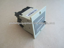 Contador de numeración para heidelberg gto máquina deimpresión, temporizador contador para offset gto máquina