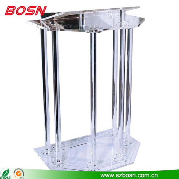 Clear Acrylic Church Lecterns
