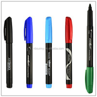 Plastic permanent marker, indelible marker pen, permanent marker pen