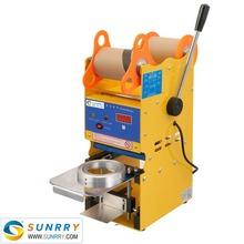 Hot sale 220v household super yogurt vacuum cup sealer for CE