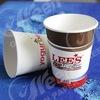 logo printed disposable paper coffee cup/cheap tea cups