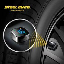 2015 Steelmate TP-76B car led Wireless DIY tpms car digital pressure gauge,tire inflator,sensors