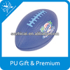 Novelty advertising product high quality rugby pu stress ball customized logo item