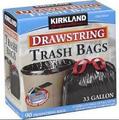 Lixo da cozinha tamanho do saco, china venda quente personalizado de plástico com cordão, cozinha saco de lixo