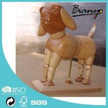Wholesale 6 inch Artist Sketch Wood Animal Manufacturer