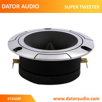 ST2508P car audio tweeter 1 inch 25.4mm titanium super tweeter aluminum 4 ohms 120 watts bullet tweeter