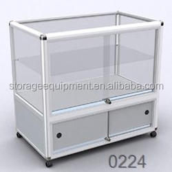 factory direct commercial aluminum glass door frame for cell phone