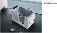 Rectangular white color small corner bathtub HL-5627
