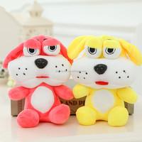 OEM 18cm plush dog toy big eye for kids for christmas gift