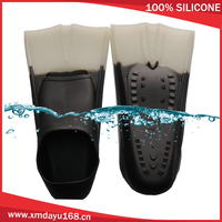 Size 33-44 Available High Quality Swimming Water Flippers Durable Silicone Swimming Flipper