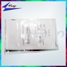 Plastic header card packaging with hanger