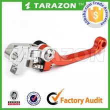 CNC billet aluminum motocross pivot brake clutch lever for YAMAHA YZ250
