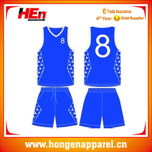 Hongen apparel high quality profession basketball sets custom