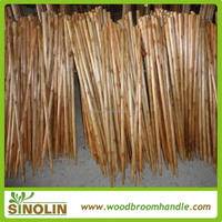 Sinolin 120*2.8cm varnished wooden garden rake handle