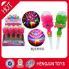 hot selling plastic candy toys for kids hand stage lamp with music 12pcs