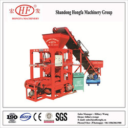 QT4-26 concrete brick/block making machine,concrete paving brick making machine/fly ash brick making machine cost