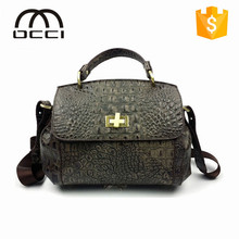 Original Design Handmade Newest Lady Fashion Genuine Leather Handbag,Shoulder Bag QY1279