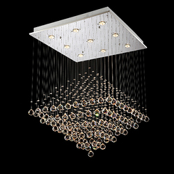 Home decoration lighting crystal pendant lamp cristal lustre light