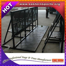 ESI High Quality Aluminum Concert Security Barrier /Mojo Barrier /Crowd Control barrier export to Australia, UK, USA,