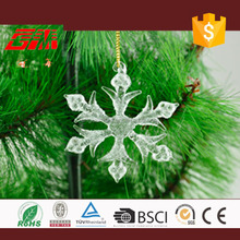 Handmade christmas decorative snowflake decorations