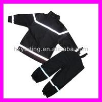 Fashion children PU Raincoats Overall red designer rain suit