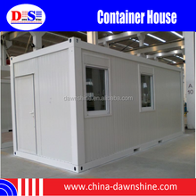 Container House for Office/Living/Toilet/Store/Hotel, Container House with Wheel, Container House