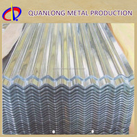 ASTM A653M HDGI Galvanized Steel Roofing Metal Corrugated Tile