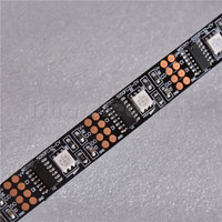 Full color Addressable 24-Bit 5050 RGB LED Strip WS2801 32 Pixels 5V Black/White IP20 IP65 IP67 IP68 LED Strip Light