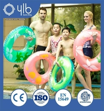 cut-price safe plastic inflatable swim ring for baby