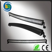 "50"" Aluminum housing waterproof IP67 240w offroad curved led light bar"
