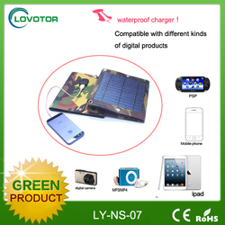 1400mah solar power bank charger for mobile phone